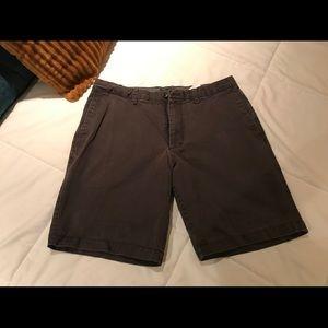 Dark gray banana republic mens shorts